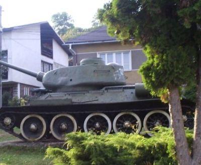 Tank z druhej svetovej vojny v Klenovci