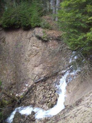 Vodopád Teplého potoka