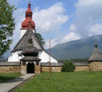 Kostol v Liptovských Matiašovciach