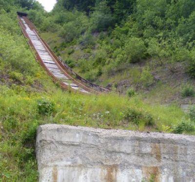 Skokanský mostík v Králikoch