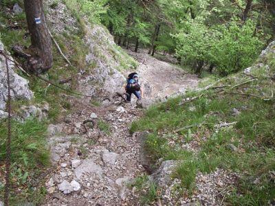Modrá trasa - Chodník Janka Bojmíra
