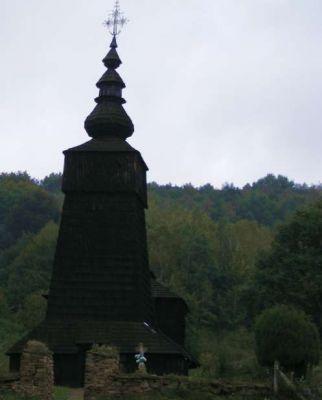 Drevený kostol v obci Potoky