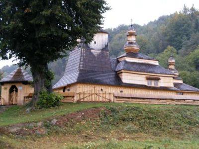 Drevený kostol v obci Miroľa