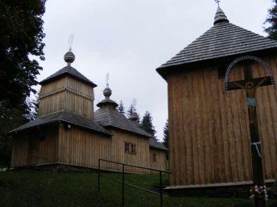 Drevený kostol v obci Korejovce