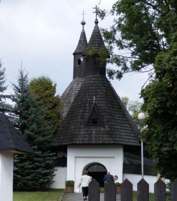 Gotický drevený kostol v Tvrdošíne