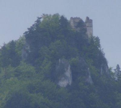 Hrad Hričov - zrúcanina