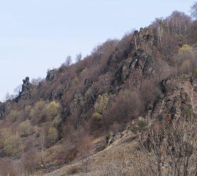Sivý kameň - skaly